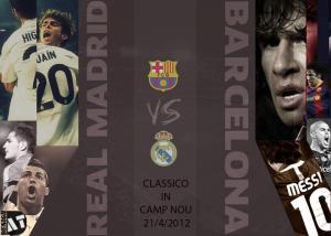 برشلونه و ريال مدريد 21-4-2012
