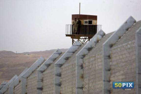 حدود مصر مع اسرائيل