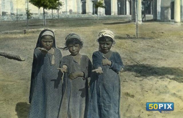 اطفال من الارياف