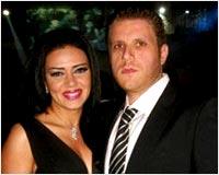 رانيا يوسف و زوجها السابق كريم الشبراوي.